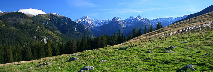 Tatra mountains in summer
