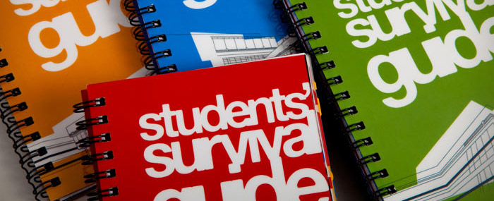 students' survival guide covers